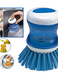 aide de cuisine pot nettoyage pan brosse