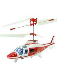 3ch helicóptero com iluminação de controle remoto (RC) helicópteros interior brinquedo (yx02675r)