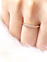 Diamond 14K Gilded Ring