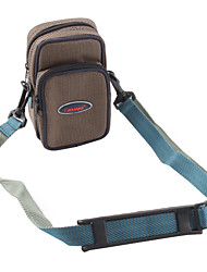 beschermende zak voor digitale camera (m grootte bruin)