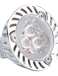 GU5.3 3 W 3 High Power LED 270 LM Warm White MR16 Spot Lights DC 12 V