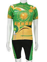 Men's Cycling Suits Short Sleeve Bike Spring / Summer Breathable / Quick Dry Green S / L / XXL / M / XL / XXXL / XS / XXXXL