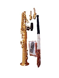Hanbang - (HB-8048) Soprano Saxophone with Soft Case (Up To High F#)