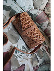 Retro Braid Nail Rectangular Cross-body Bag(22cm*9cm*12cm)