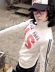 sport bande à glissière blouse