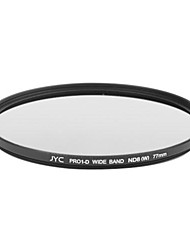 Genuine JYC Super Slim High Performance Wide Band ND8 Filter 77mm