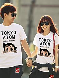 tokyo átomo cotton design t-shirt