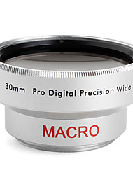 Professional 30mm 0.45x Wide Angle and Macro Conversion Lens