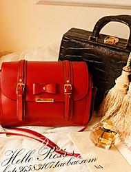 Bow Design Nail Cross-body Bag(27cm*8cm*21cm)