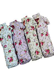 estilo chino vestido de bolsillo de vinilo UV paraguas