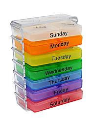 28 caixa de medicina grades por uma semana