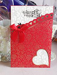 Convites de casamento Cartões de convite Embrulhado e de Bolso