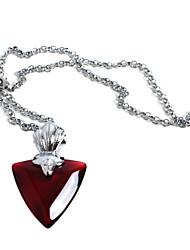 Schmuck Inspiriert von Fate/stay night Rin Tohsaka Anime Cosplay Accessoires Halsketten Rot Frau