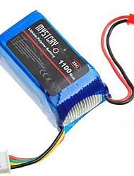 mistério 11.1v 25c 1100mah li-bateria de polímero de helicóptero do rc (my0026)