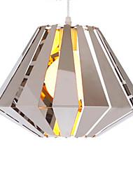 1 - Luz de lámpara colgante moderna en función geométrica
