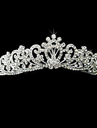 Women's Alloy Headpiece-Wedding / Special Occasion Tiaras As the Picture Round
