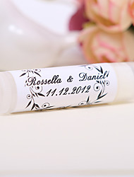 Personlized Lip Balm Tube Favors - Garland (Set of 12)