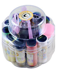 Two-Layer 20-Piece Sewing Kit in Round Box