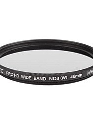 Genuine JYC Super Slim High Performance Wide Band ND8 Filter 46mm