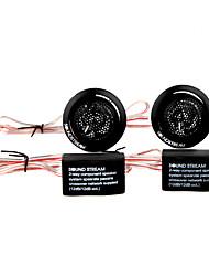 500w plástico tweeters alto-falante para carro sistema de áudio estéreo, preto, par, dc 12v