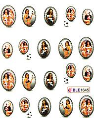 Funny Image Nail Sticker(3 pcs)