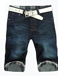 мужской обрезанный Жан брюки