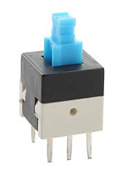 8 Interrupteur x 8mm clé pour l'électronique automobile et le bricolage (verrouillage, 20 pièces par paquet)