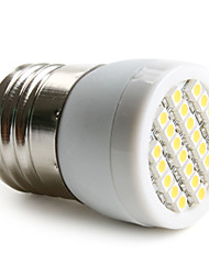 E26/E27 1.5W 24 SMD 3528 60 LM Warm White LED Spotlight AC 220-240 V