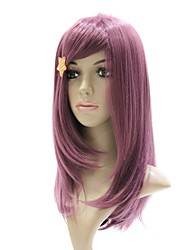 Capless Synthetic Purple Lovely Paty Hair