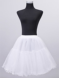 Nylon Half Slip Short Length Women Wedding Petticoats