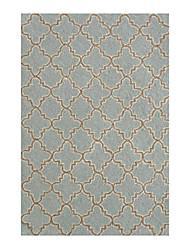 acrylique tapis tufté à motif géométrique 5 '* 8'