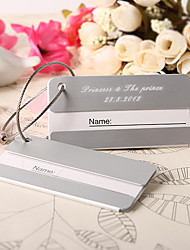 Personalized Metal Luggage Tag