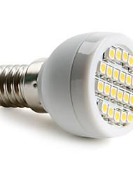 1W E14 Spot LED 24 SMD 3528 60 lm Blanc Chaud AC 100-240 V