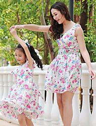 madre e hija vestido sin mangas