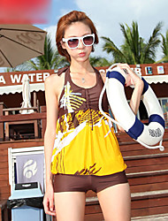 halter swimwear projeto plissado