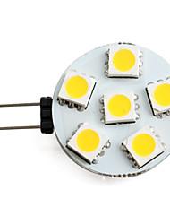 1.5w g4 led spot spot 6 smd 5050 150 lm blanc chaud blanc 12 v