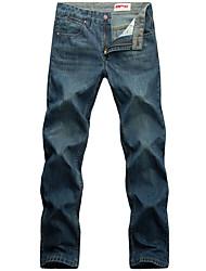 falsos homens velhos jeans