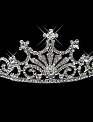 Magnificent Alloy With Rhinestone Bridal Tiara