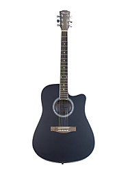 "Blitz - WDG15 41"" Linden Plywood Dreadnought Cutaway Acoustic Guitar with Allen Wrench"