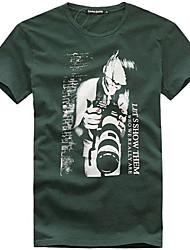 Camera Pattern Mens' Short Sleeve T-shirt