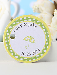 Personalized Favor Tag - Umbrella (Set of 36)