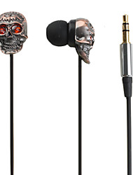 Diamond Skull Style Earphones