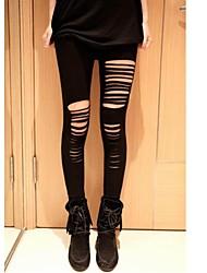 sexy leggings de bande de femmes