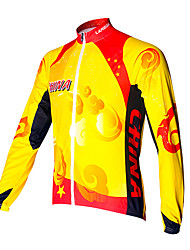Cycling Sports Men's Long Sleeve Tops(Lucky China)