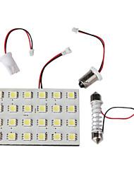 Car Interior 24 LED Car Interior Light/Roof Light (white)