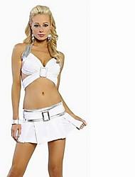 клубный стиль сексуальный женский мини-юбка костюм