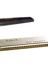 Kaine - (KB-22) Professional Rosewood Comb Bass Harmonica C key/22 Holes