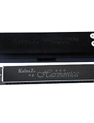 Kaine - (K2403) Intermediate Baritone Harmonica C key/24 Holes/48 Tones