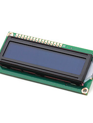 Electronics DIY (For Arduino) LCD Module 1602, White on Blue with Backlight
