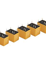 5 peças hk4100f-DC5V-SHG volts relé de 6 pinos diy